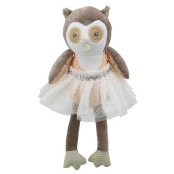 Owl (Brown) - Wilberry Dancers Soft Toy
