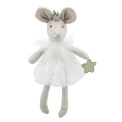 Mouse (White) - Wilberry Dancers Soft Toy