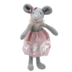 Mouse (in Skirt) - Wilberry Dancers Soft Toy