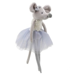 Mouse (Grey) - Wilberry Dancers Soft Toy