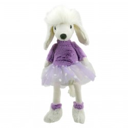 Poodle (Purple) - Wilberry Dancers Soft Toy