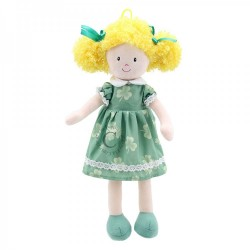 Doll (Green Dress) - Wilberry Dolls Soft Toy