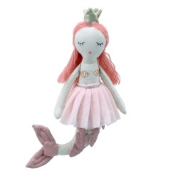 Mermaid - Ginger Hair - Wilberry Dolls Soft Toy
