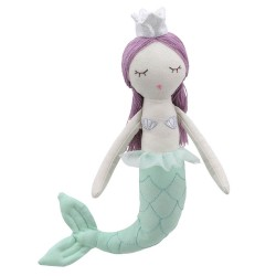 Mermaid - Purple Hair - Wilberry Dolls Soft Toy