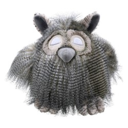 Owl (Large) - Wilberry Feathery Friends Soft Toy
