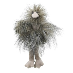 Ostrich (Small) - Wilberry Feathery Friends Soft Toy