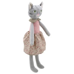 Cat (Girl) - Wilberry Friends Soft Toy