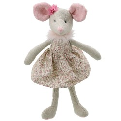 Mouse (in Dress) - Wilberry Friends Soft Toy