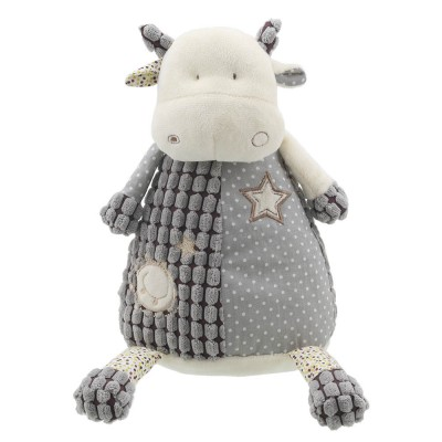 Cow (Grey) - Wilberry Friends Soft Toy