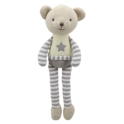 Bear -  Wilberry Knitted Soft Toy