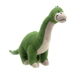 Brontosaurus - Wilberry Knitted Soft Toy