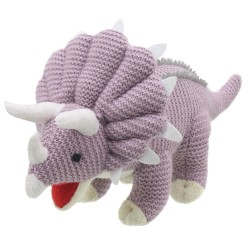 Triceratops - Wilberry Knitted Soft Toy
