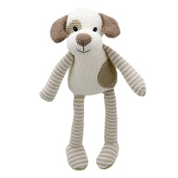 Dog - Wilberry Knitted Soft Toy
