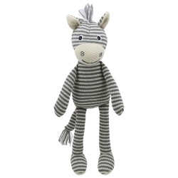 Zebra - Wilberry Knitted Soft Toy