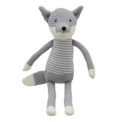 Fox - Wilberry Knitted Soft Toy