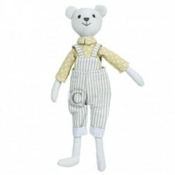 Bear (Boy) - Wilberry Linen Soft Toy