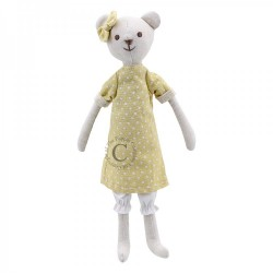 Bear (Girl) - Wilberry Linen Soft Toy