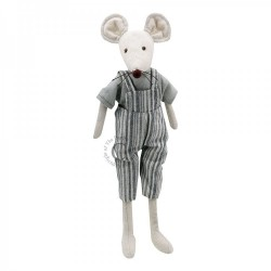 Mouse (Boy) - Wilberry Linen Soft Toy