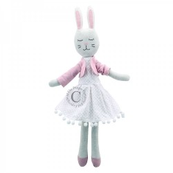 Rabbit (In Dress) - Wilberry Linen Soft Toy