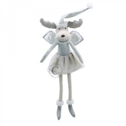 Reindeer (Silver) - Wilberry Dancers Soft Toy