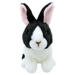 Rabbit (Black & White Dutch) - Wilberry Mini Soft Toy