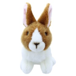 Rabbit (Brown & White) - Wilberry Mini Soft Toy
