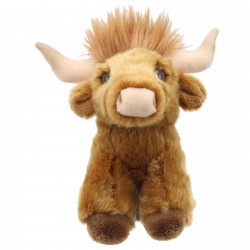 Cow (Highland) - Wilberry Mini Soft Toy