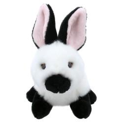Rabbit (Black & White) - Wilberry Mini Soft Toy