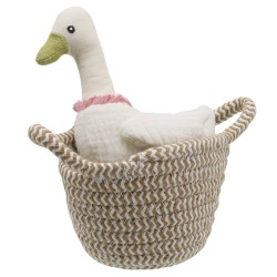Duck (white) - Wilberry Pets in Baskets Soft Toy