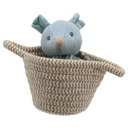 Mouse - Wilberry Pets in Baskets Soft Toy