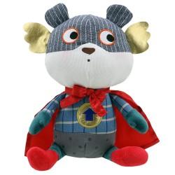 Bear - Super Hero Soft Toy