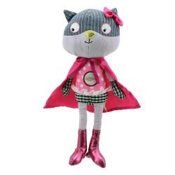 Cat - Super Hero Soft Toy