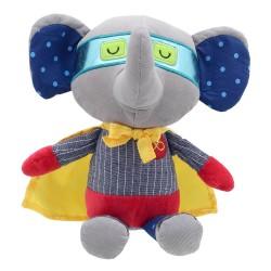 Elephant - Super Hero Soft Toy