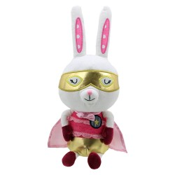 Rabbit - Super Hero Soft Toy