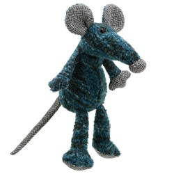 Rat (Blue) - Wilberry Woollies Soft Toy