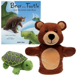 Bear and Turtle and the Great Lake Race Storytelling Collection (My First Puppet)
