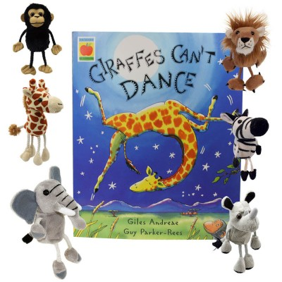 Giraffes Can't Dance Book Storytelling Collection