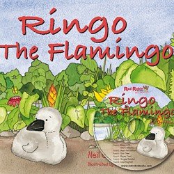 Ringo the Flamingo. book with CD